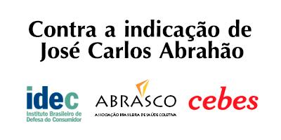 Idec, Abrasco e Cebes são contra a aprovação de novo diretor da ANS