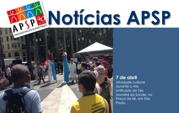 Boletim da Associação Paulista de Saúde Pública (APSP) - Abril/ 2014