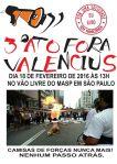 3º Ato #ForaValencius